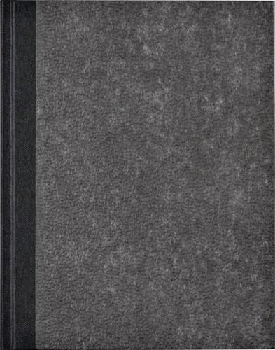 Register breedkwarto 288blz gelinieerd grijs gewolkt