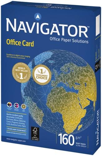 Kopieerpapier Navigator Office Card A4 160gr wit 250vel