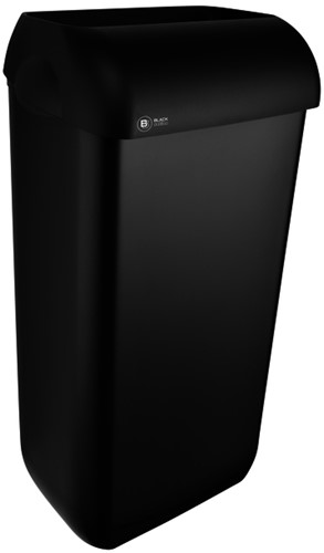 Afvalbak BlackSatino 23 liter zwart