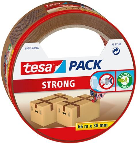 Verpakkingstape Tesa 05042 strong 38mmx66m bruin