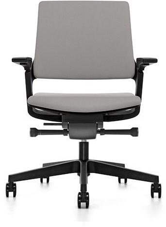 Movy 13M6 Bureaustoel- gestoffeerde zitting en rugleuning zitdiepte/lendensteun