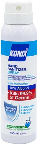 Handspray Konix aerosol Hygienic 150ml 70% alcohol