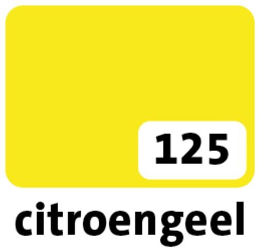 Etalagekarton folia 48x68cm 380gr nr125 geel