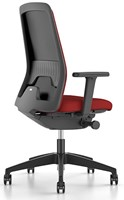 Every Chillback bureaustoel 146E - zwart kunststof - synchroon - lende - 4D armleggers - stoffering Royal-3