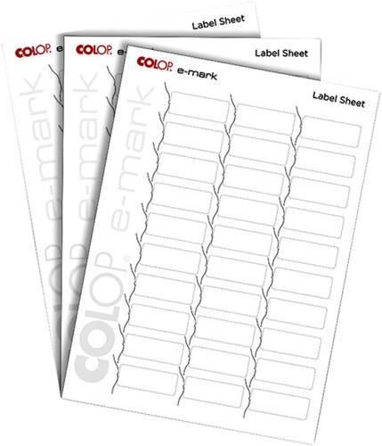 Tekststempel Colop E-Mark labels