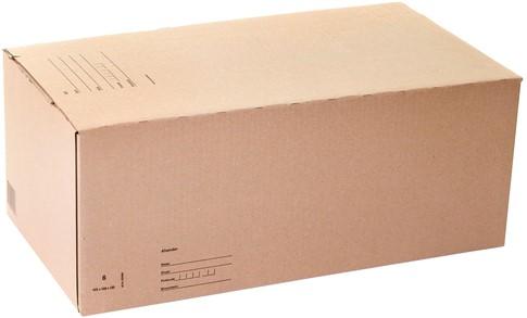 Postpakketbox Budget 6 485x260x185mm bruin