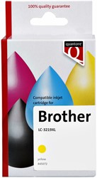 Inkcartridge Quantore Brother LC-3219XL geel