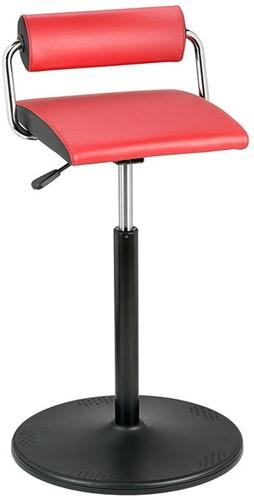 Bimos Sweemo Stand - schotelvoet - skai bekleding - zithoogte 58 - 85 cml-2