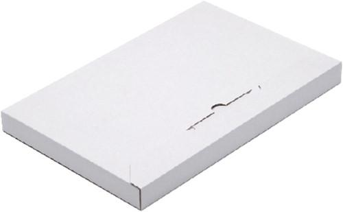 Brievenbusbox Budget A4 350x230x29mm karton wit