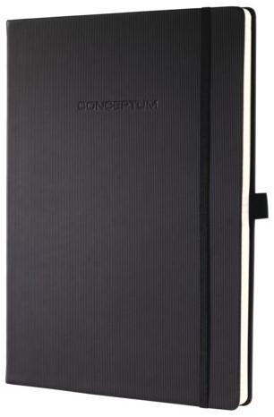Notitieboek Sigel Conceptum Pure A4 lijn zwart