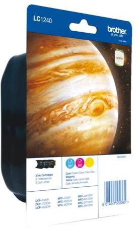 Inktcartridge Brother LC-1240RBWBP 3 kleuren