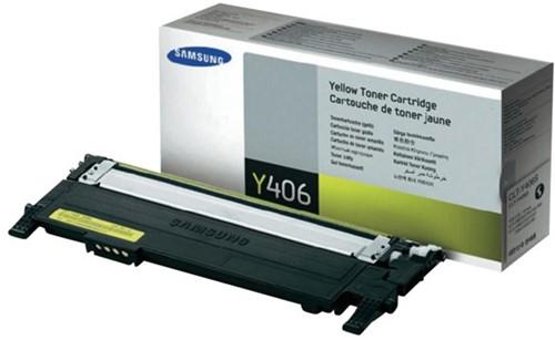 Tonercartridge Samsung CLT-Y406S geel