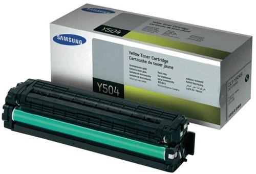 Tonercartridge Samsung CLT-Y504S geel
