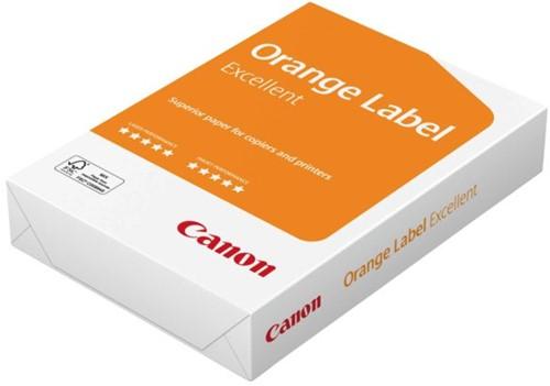 Kopieerpapier Canon Orange Label  Excellent A4 80gr wit 500vel