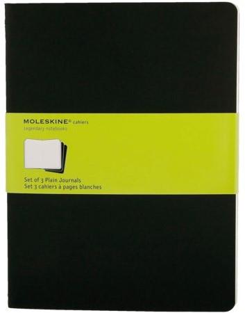 Schrift Moleskine blanco XL 190x250mm 240blz zwart