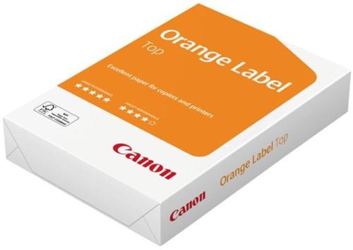 Kopieerpapier Canon Orange Label Top 80gr A4 wit 500vel