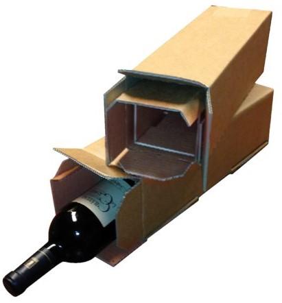 Wijndoos Budget karton bruin