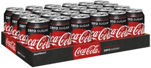Frisdrank Coca Cola Zero blikje 0.33l-3