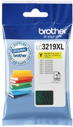 Inkcartridge Brother LC-3219XLY geel HC