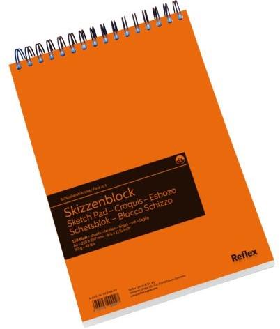 Schetsblok Schoellershammer A4 spiraal 120vel 90gr