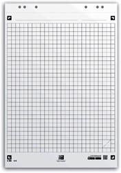 Flipoverpapier Oxford smart 65x98cm. ruit 90gram 20vel