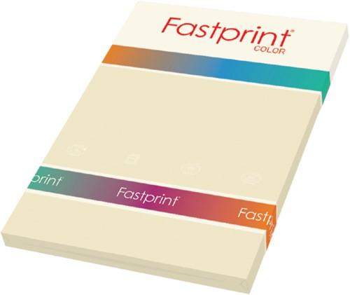 Kopieerpapier Fastprint A4 160gr roomwit 50vel