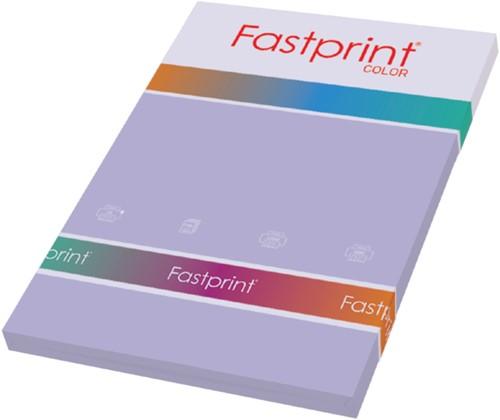Kopieerpapier Fastprint A4 160gr lila 50vel