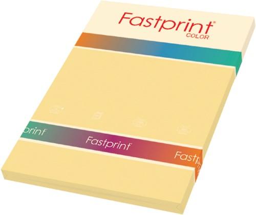Kopieerpapier Fastprint A4 80gr donkerchamois 100vel