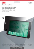 "Privacy filter 3M 9.7"" liggend iPad Air 1/2/Pro"