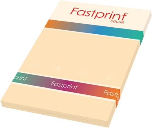 Kopieerpapier Fastprint A4 160gr creme 50vel