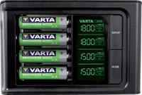 Batterij oplader Varta LCD Smart incl. 4x2100MAH-3