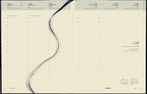 Agenda 2022 Brepols Concorde 7dag/2pagina zwart