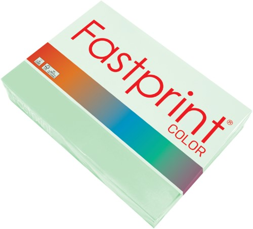 Kopieerpapier Fastprint A3 120gr appelgroen 250vel