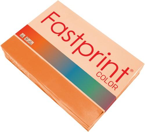 Kopieerpapier Fastprint A4 120gr oranje 250vel