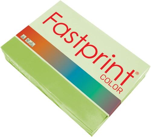 Kopieerpapier Fastprint A4 160gr helgroen 250vel