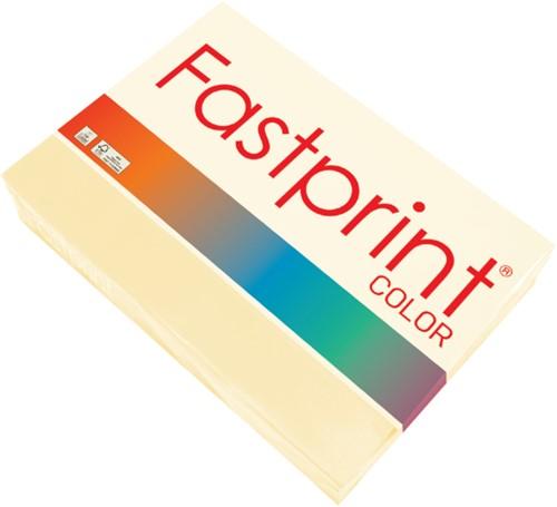 Kopieerpapier Fastprint A4 80gr ivoor 500vel
