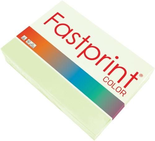 Kopieerpapier Fastprint A4 160gr lichtgroen 250vel