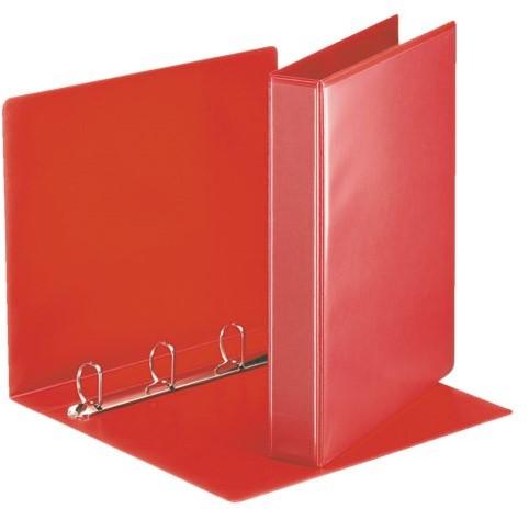 Presentatieringband Esselte A4 4-rings D-mech 20mm rood