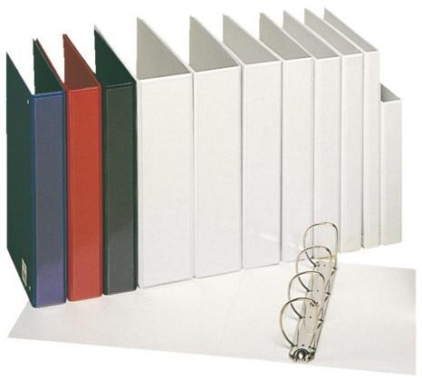 Presentatieringband Esselte A4 4-rings D-mech 20mm rood-2