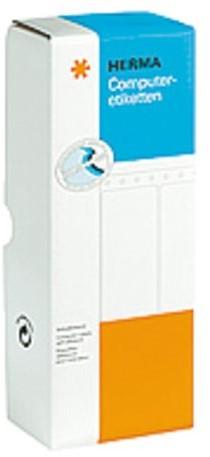 Etiket Herma 8211 88.9x35.7mm 1-baans wit 4000stuks