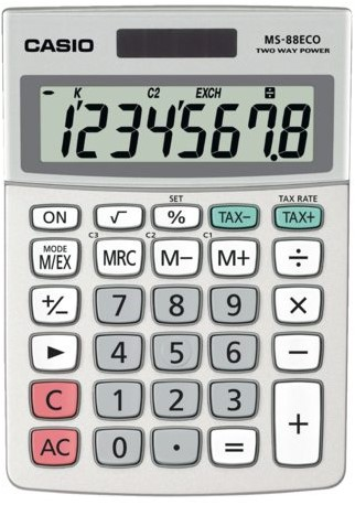 Rekenmachine Casio MS-88-ECO