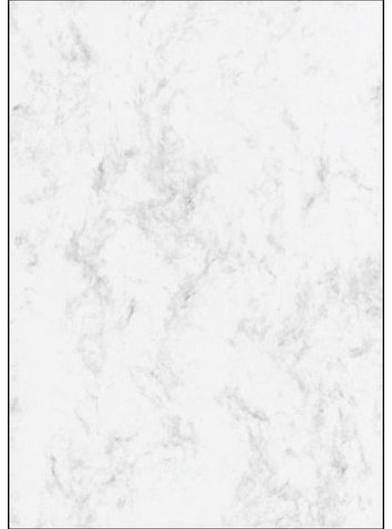 Designpapier Sigel A4 90gr marmer grijs 100vel