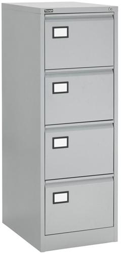 Dossierladekast met 4 laden - 133h x 47b x 62d cm