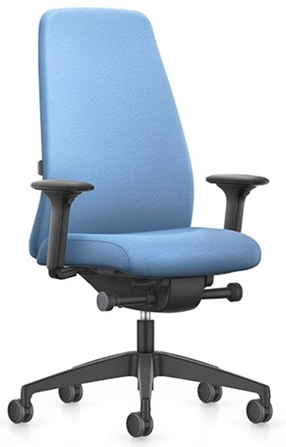 Interstuhl New Every bureaustoel EV117 - rugleuning hoog gestoffeerd - Era stoffering - 4D armleggers