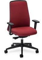 Every Chillback bureaustoel 146E - zwart kunststof - synchroon - lende - 4D armleggers - stoffering Royal-2