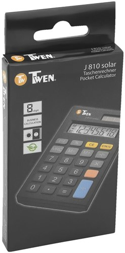 Rekenmachine Twen J810 solar