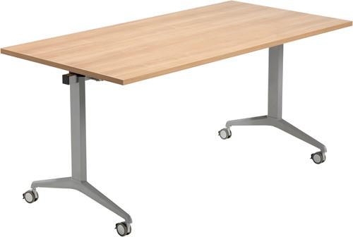 Tica verrijdbare klaptafel - melamine blad 160x80cm