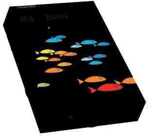 Rainbow Blackpapier KL99 450 x 640mm 160gr. 250vel