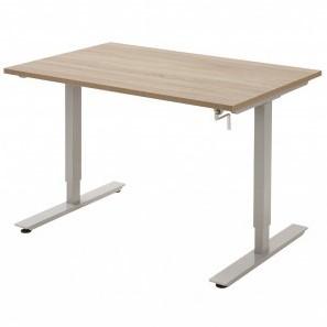 Tica bureautafel - slinger verstelbaar HI 66-110cm - blad 160x80cm melamine